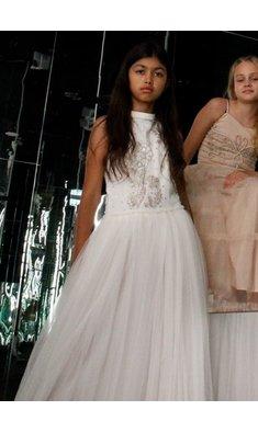 Ooh la la Couture maxi feestjurk Lilou offwhite