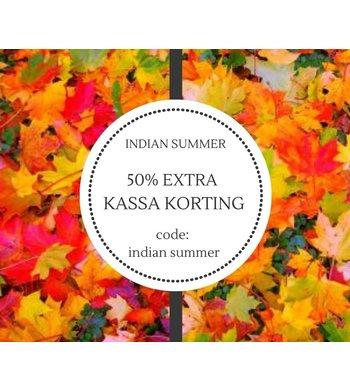 INDIAN SUMMER LAATSTE MAATJES MARKT