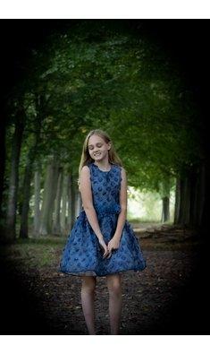 Gymp dress blue