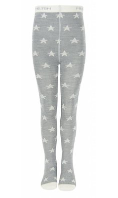 Melton tight with stars grey