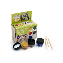 Natural Earth Paint Natural Earth Face Paint kit 6 kleuren