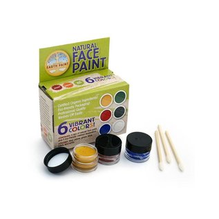 Natural Earth Paint Natural Earth Face Paint Kit 6 kleuren