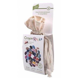 Crayon Rocks Crayon Rocks (32) in een ecru katoenen zakje