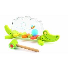 Djeco Djeco houten krokodillen slagspel