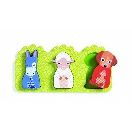 Djeco Djeco houten puzzel 'Rosalie'