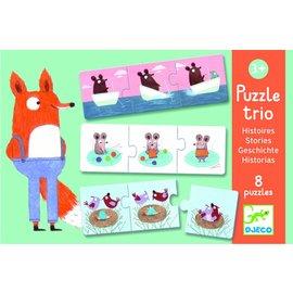 Djeco Djeco puzzel trio kleine verhaaltjes