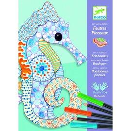 Djeco Djeco motiefkunst dieren