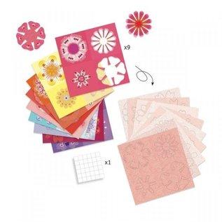 Djeco Djeco origami bloemen vouwen