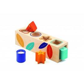 Djeco Djeco houten vormen doos Boita Basic