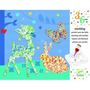 Djeco Djeco schilderen met knikkers