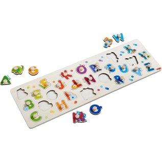 Haba Haba houten inlegpuzzel 'mijn eerst ABC'