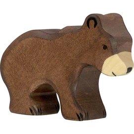 Holztiger Holztiger bruine beer klein