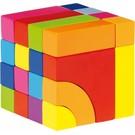 Goki Goki houten blok en legpuzzel