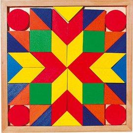 Goki Goki houten mozaïek puzzel