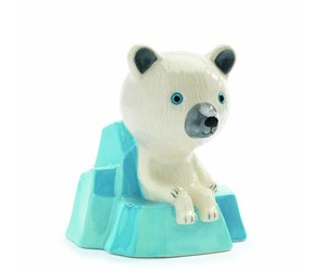 Djeco spaarpot kleine ijsbeer de rode krokodil