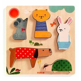 Djeco Djeco puzzel Huisdieren