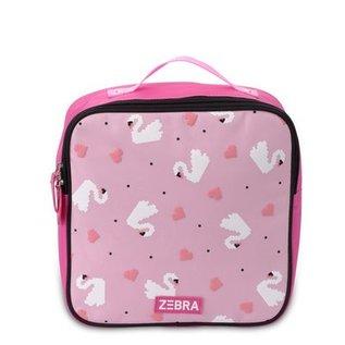 Zebra Trends Zebra rugzakje Zwaan roze