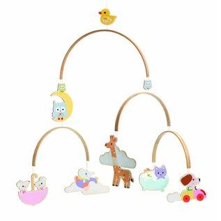 Djeco Djeco mobiel Baby dieren (DD04388)