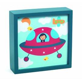 Djeco Djeco nachtlampje Ruimteschip