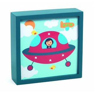 Djeco Djeco nachtlampje Ruimteschip (DD03486)