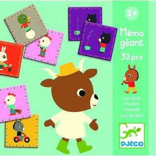 Djeco Djeco reuzen memorie Vrienden (DJ08119) 32st