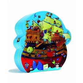 Djeco Djeco puzzel Piratenschip