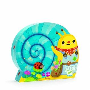 Djeco Djeco puzzel Slak (DJ07219) 24st