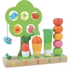 Vilac Vilac Leer tellen met groente en fruit