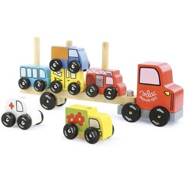 Vilac Vilac Vrachtwagen met auto's