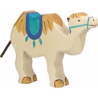 Holztiger Holztiger kameel met zadel