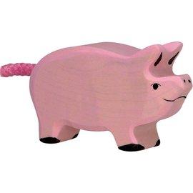 Holztiger Holztiger roze biggetje