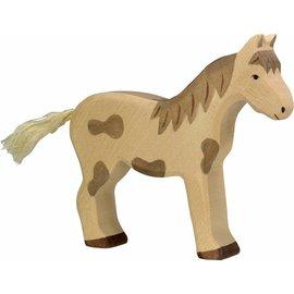Holztiger Holztiger gevlekt paard staand