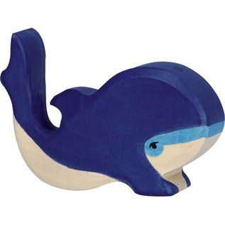 Holztiger Holztiger walvis blauw 80196