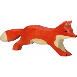 Holztiger Holztiger vos rennend