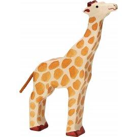 Holztiger Holztiger giraffe kop omhoog