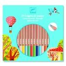 Djeco Djeco set van 24 kleurpotloden