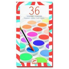 Djeco Djeco waterverfset met 36 kleuren