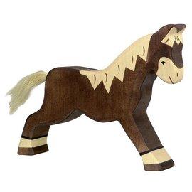 Holztiger Holztiger paard donker bruin