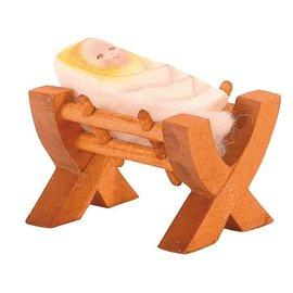 Ostheimer Ostheimer kribbe met kindje jezus