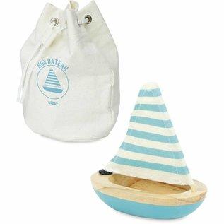 Vilac Vilac badspeeltje zeilboot - Blauw
