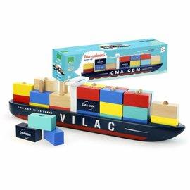 Vilac Vilac Vilacity houten containerschip