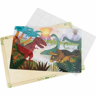 Vilac Vilac houten puzzel 'Dinosaurus' (42st) 2597