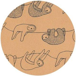 Trixie Baby Trixie baby badcape met washandje 'Silly Sloth'