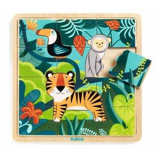 Djeco Djeco puzzel Jungle
