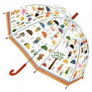 Djeco Djeco kinderparaplu In de regen DD04809