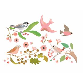 Djeco Djeco raamstickers Vogels op takjes DD05052