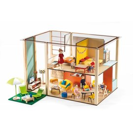 Djeco Djeco modern poppenhuis Kubus