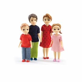 Djeco Djeco poppenhuis familie Thomas & Marion
