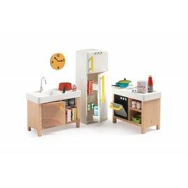 Djeco Djeco poppenhuis inrichting Keuken