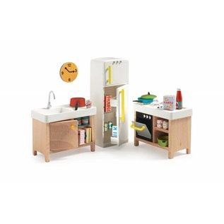 Djeco Djeco poppenhuis inrichting Keuken DJ07823